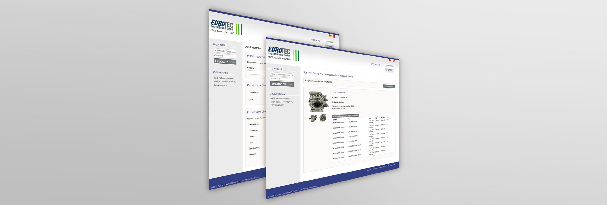 competitive price 7f6d8 0359f Online-Shop - EUROTEC Deutschland GmbH